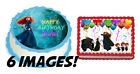 Disneys BRAVE Happy Birthday topper Edible picture Photo for Cake sugar sheet
