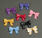 "U PICK~ 7/8"" Bow Shank Button Kids Dolls Crafts Cards Scrapbooking x 70pcs #4006"