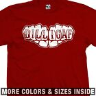 DILLIGAF Fists T-Shirt - Knuckle Tattoo Biker Motorcycle - All Sizes & Colors