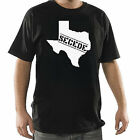 TEXAS SECEDE Branded New Black tshirt tee shirt men's mens rebel gift