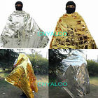 Space Foil Emergency Rescue Survival Thermal Blanket First Aid Kits  2.1*1.3M