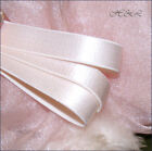 UK 4m 2m 1m Ballet Shoe LIGHT PINK 16mm Satin Elastic bra strap trim tutu dress