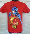 """Genuine """"All Day"""" Famous Mens  Crew Neck Tee - Red"""