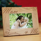 Personalized  Mother's Day Picture Frame Mom and Me Engraved Photo Frame For Mom