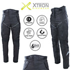 Motorcycle Textile Trousers Armour Protection Waterproof Wind CE Winter Pants