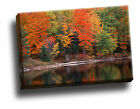 Hiawatha National Forest, Upper Peninsula Canvas Framed Picture Wall Art