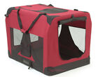 Soft Fabric Dog Crates Burgundy - Best Reviews Guide