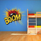 Cartoon Explosion - Cartoon Bomb - Wall Art Design - Bedroom Playroom Mural.