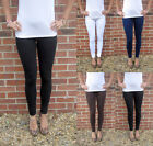 EXTRA LONG Leggings COMBED COTTON Elastane SIZES 8 - 26  Tall