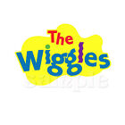 THE WIGGLES LOGO IRON ON TRANSFER  4 SIZES! FOR LIGHT OR DARK FABRIC