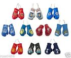 Football Mini Boxing Gloves OFFICIAL Christmas Xmas Birthday Car Accessory Gift