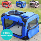 RayGar Fabric Soft Pet Crate Cat Dog Cage Carrier House Kennel Foldable Portable