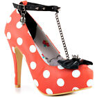 Iron Fist Mary Had A T Bar Plat - Orang Iron Fist Sexy Platform Shoes New In....