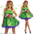 Ladies Fairy Nymph Pixie Halloween Fancy Dress Costume Outfit UK 8-26 Plus Size