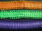 Satin & Lace Sparkle Box Pleat Trim Various Colours  Sewing/Crafts/Costume