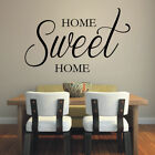 HOME SWEET HOME quote wall decal entrance living room wall sticker