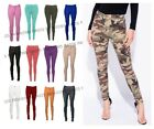 NEW LADIES SKINNY  COLOURED JEGGINGS STRETCH TROUSER PANT LEGGINGS SIZES 8 - 20