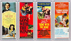 GONE WITH THE WIND movie poster LARGE FRIDGE MAGNETS - CLASSIC!