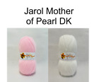 100gm Balls of Jarol Mother Of Pearl Baby Wool, Yarn, Sparkle DK Double Knit