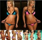Women Sexy Halter Bikini Swimsuit underwired Swimwear Top+Bottom 6 Colors # MD01