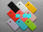 9 colors Glitter shining Soft Gel Cover Case For HTC One M7