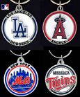 CHOOSE TEAM Key Chain Ring New Official MLB Solid ZincEnameled Keychain Keyring* on Ebay