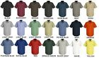Lot of 12 Short Sleeve Uniform WORK SHIRTS U Choose Size  Color Red Kap SP24