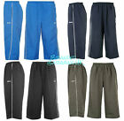 BNWT SLAZENGER Mens Long Woven Shorts/Crop Training Pants S-4XL Three-Quarter