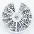 12 Shapes Flat Back Acrylic Rhinestones Mixed Shapes Wheel RS836K