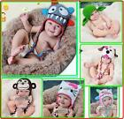 NEW Baby Crochet Animal Hat Beanie Knit Crochet Beanie Cap For Winter /Baby Gift