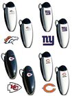 CHOOSE TEAM Set 2 Pack Visor Clip New Official NFL For Sunglasses Purse Backpack