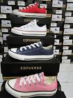 CONVERSE YOUTHS  CHUCK TAYLOR ALL STAR OX - UNISEX BRAND NEW BLACK/PINK/NAVY
