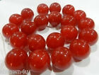 10-20mm Natural Red Ruby Round Loose Beads Gemstone 15""