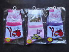 New Angrybirds Girls  Cotton Socks x 3 Pairs 1-7 Years
