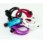 Blank value lightweight cut-out alloy BMX bike seatclamp seat clamp