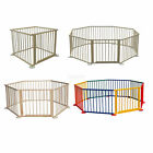 New Baby Child Children Foldable Playpen Play Pen Room Divider Wooden Heavy Duty