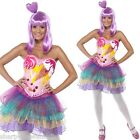 Ladies Candy Queen Katy Perry Music Celebrity Hen Do Fancy Dress Costume Outfit