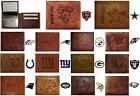 CHOOSE TEAM Wallet Bifold Highest Quality New All Leather NFL Billfold Marbled