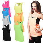 Urban Classics Ladies Loose Tank Top Sommer Shirt  Sport Fitness Damen neon