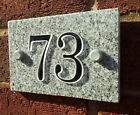 House Sign Granite Black & White 1-50 Signs Mirror Acrylic Numbers Home/Plaque