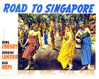 ROAD TO SINGAPORE 01 (BING CROSBY AND  BOB HOPE ) FILM POSTER PRINT