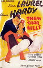 THEM THAR HILLS 01 (STAN LAUREL AND OLIVER HARDY) FILM POSTER PRINT