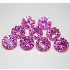 Round Cut~AA Grade Simulated 2MM Lot ~Pink Sapphire ~Cubic Zirconia~Wonderful