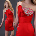 Sweetheart Sexy Lady Slim Formal Bridesmaid Party Prom Ball Short Evening Dress
