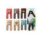 1 Pair New Cartoon Cute Baby&Toddler Kid's boys Girls socks Tights PP pants 0-36