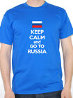 KEEP CALM AND GO TO RUSSIA - Russian / Russian Federation  Themed Mens T-Shirt