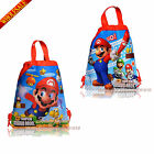 Baby's Love For Mario Kids Drawstring Backpack School Tote Bag,Kids' Party Gift