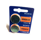 2 x Sony Lithium Coin Battery- CR2032, CR2025, CR2016