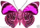 24 x BEAUTIFUL PINK Patterned Butterflies Edible Decorations Cup Cake Toppers *