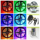 3528 SMD 300 LEDs 5M Non-Waterproof Flexible Tape Roll Strip Lights 7 Color IP65